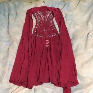Sonoma Jackets & Coats - Sonoma flowy vest size L